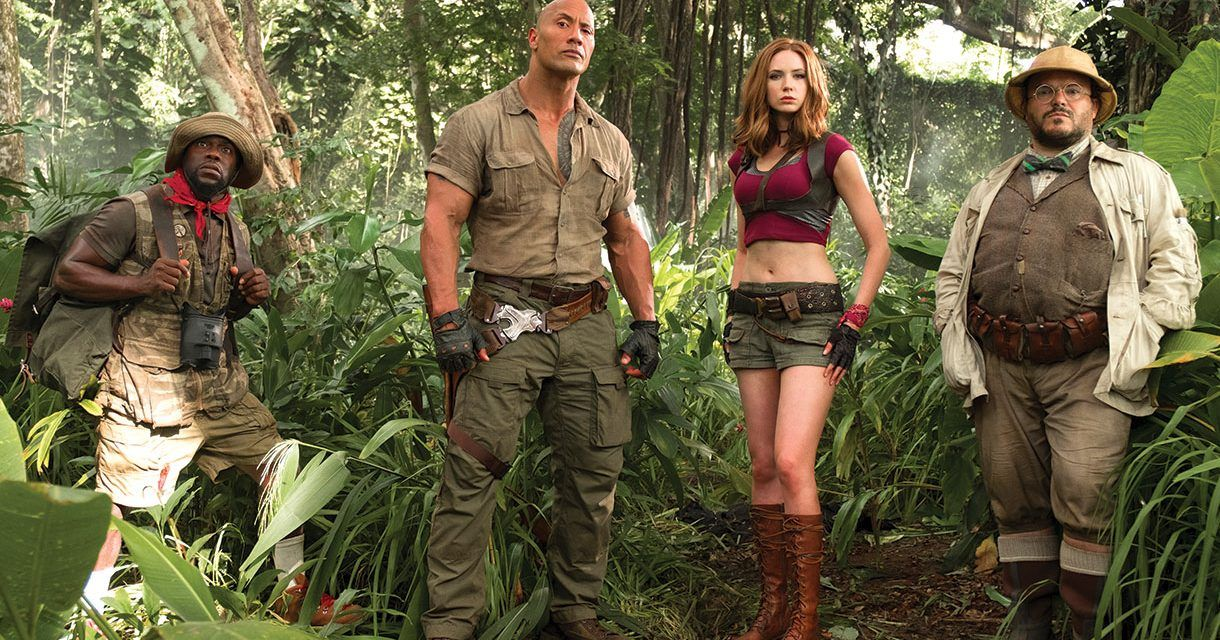 Jumanji Welcome to the Jungle 2017 Movie Free Download