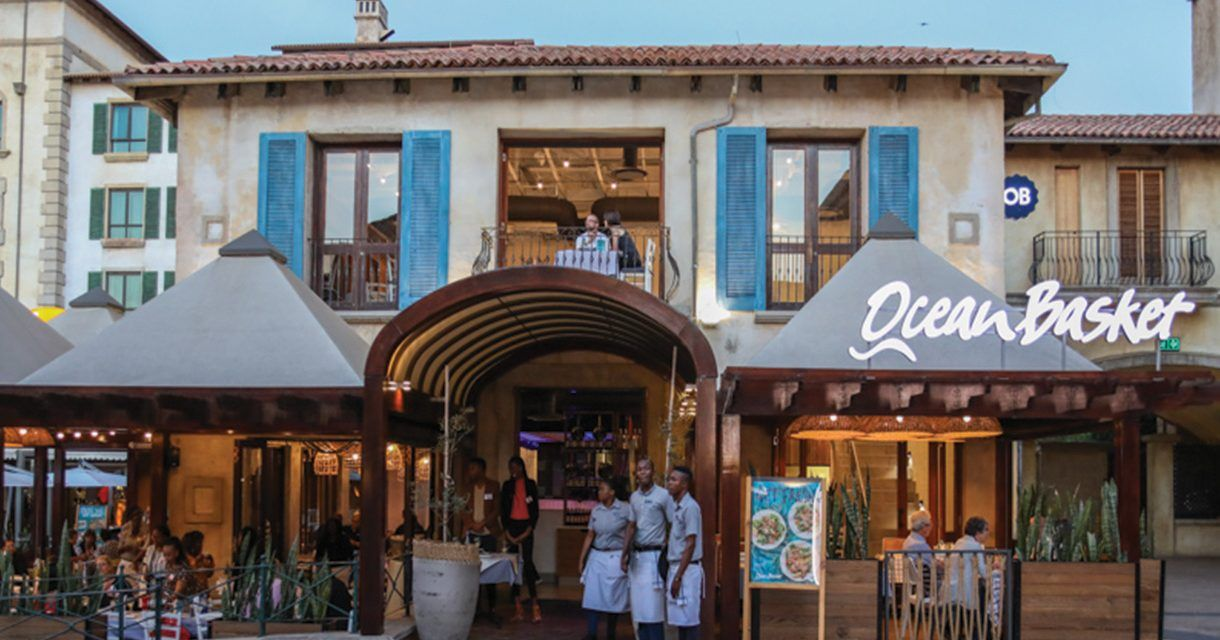 New Look Ocean Basket at Montecasino