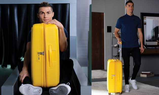 Cristiano Ronaldo – AMERICAN TOURISTER LUGGAGE BRAND AMBASSADOR