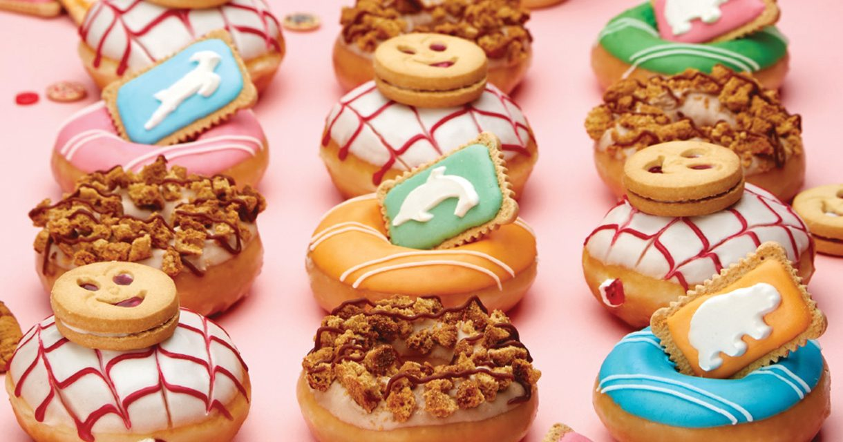Krispy Kreme collaborates with Bakers Biscuits