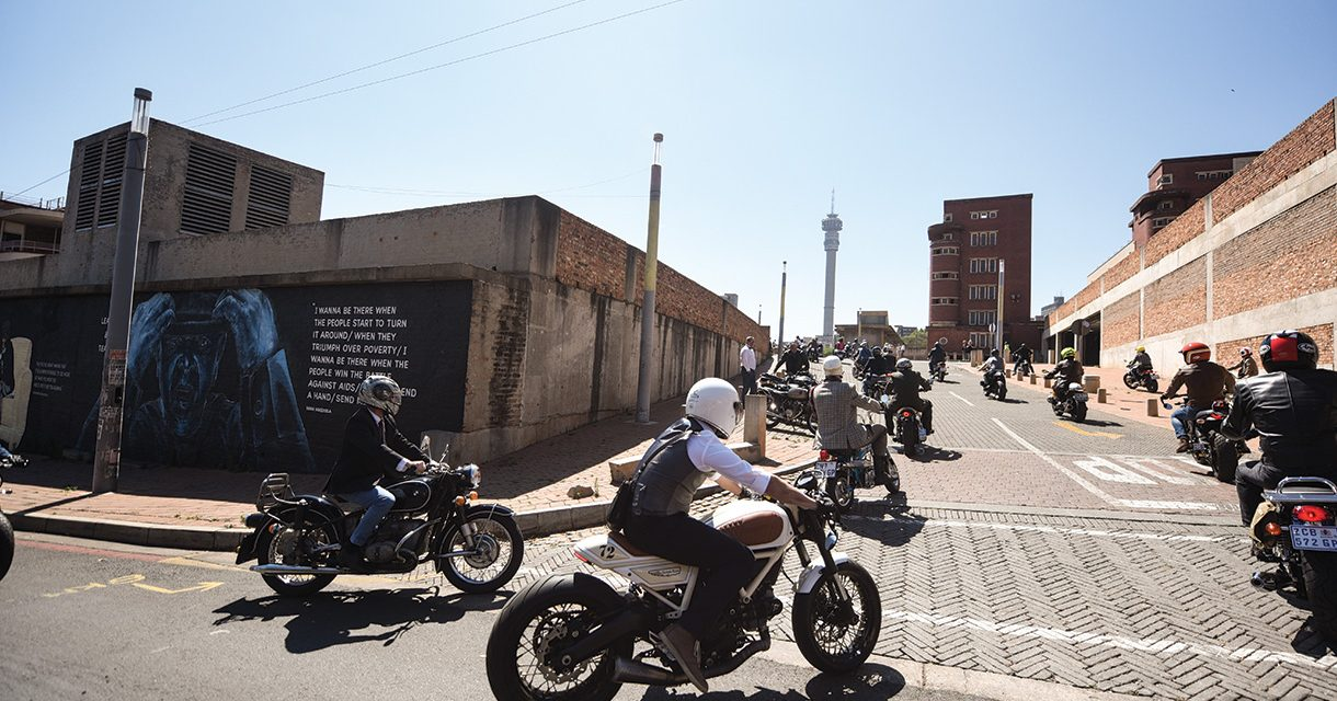 Iconic Machines and Dapper Riders Assembled for a Great Cause