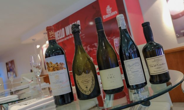 EMIRATES SHOWCASES PROUDLY SOUTH AFRICAN WINES SERVED ONBOARD