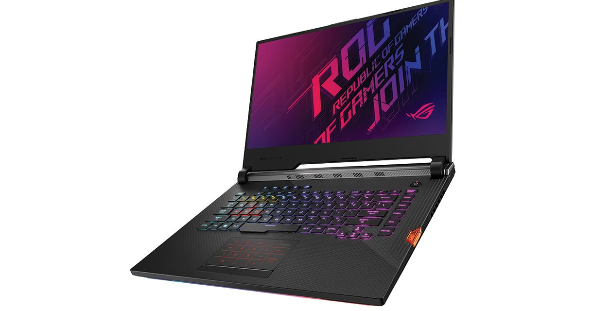 ASUS Republic of Gamers Showcases Latest Strix Laptops at RE:DEFINE 2019