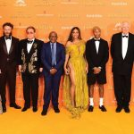 Tlale Roars at London Film Premiere