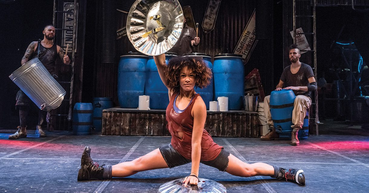 "INTERNATIONAL SMASH HIT ""STOMP"" TO BASH AND CRASH IN JOBURG THIS MONTH"