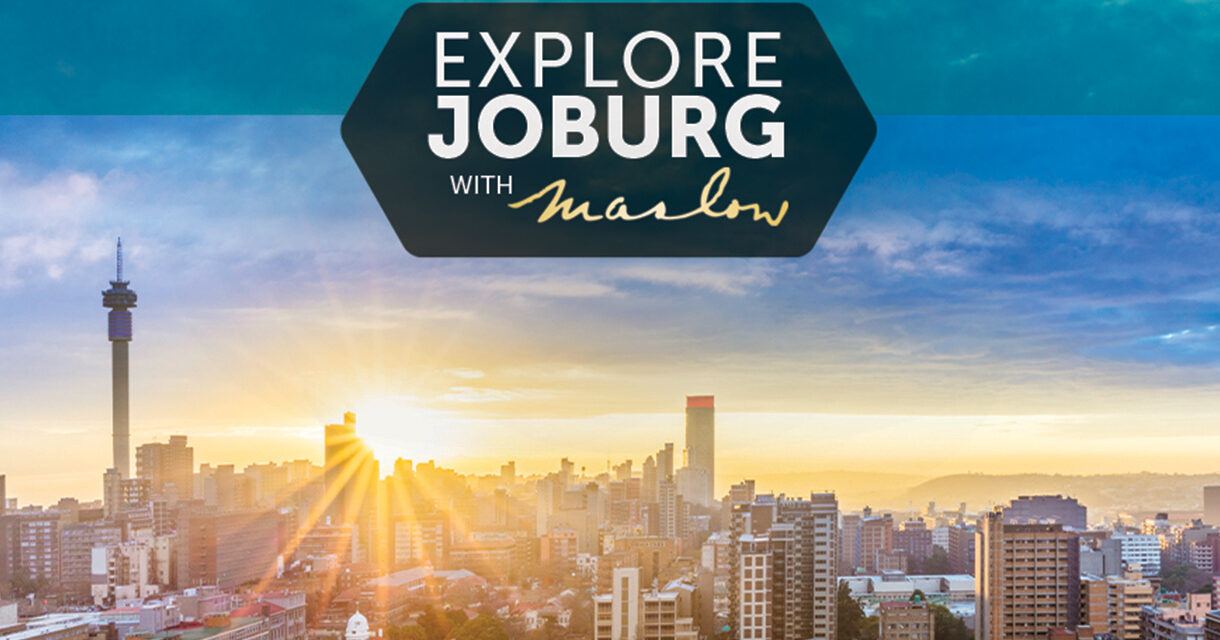 KEEP IT LOCAL AT THE MASLOW AND EXPLORE JOBURG THIS DECEMBER