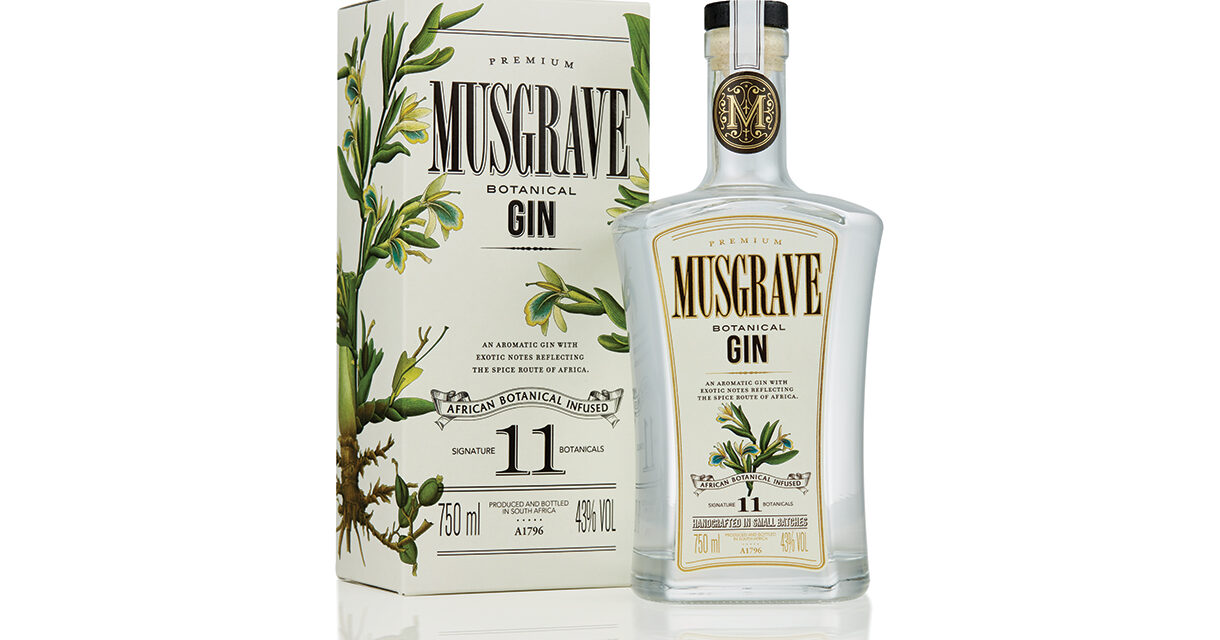 MUSGRAVE ORIGINAL CELEBRATES A NEW LOOK WITH A TRULY AFRICAN INSPIRED RANGE OF GIN COCKTAILS